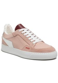 Beżowe buty sportowe Hugo