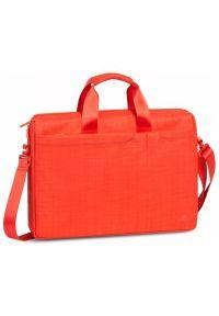 Pomarańczowa torba na laptopa RIVACASE casualowa