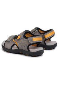 Szare sandały Geox klasyczne, na lato