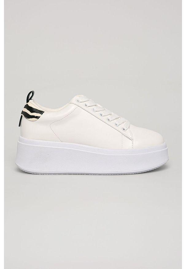 Białe buty sportowe Call It Spring na sznurówki, z cholewką
