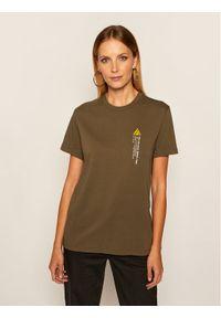 Zielony t-shirt Vans