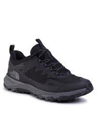 Czarne buty trekkingowe The North Face trekkingowe, z cholewką