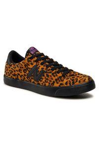 New Balance Sneakersy AM210LEP Brązowy. Kolor: brązowy