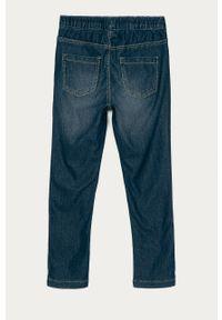 Niebieskie jeansy OVS z aplikacjami