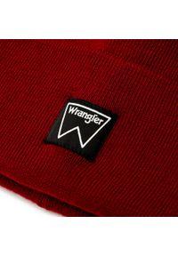 Czerwona czapka zimowa Wrangler