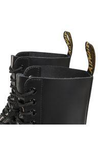 Czarne buty zimowe Dr. Martens eleganckie, z cholewką #6
