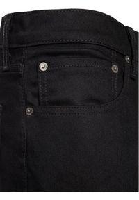 Levi's® Jeansy 512™ 28833-0013 Czarny Slim Taper Fit. Kolor: czarny. Materiał: jeans