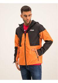 Pomarańczowa kurtka przejściowa Fila