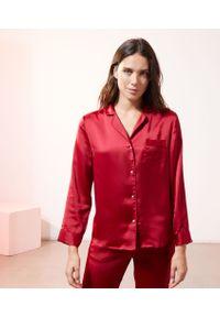 Catwalk Spe Ru - Chemise Pyjama D'homme Satinée - S - Czerwony - Etam