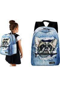 Cogio Kids Italy Plecak szkolny 5088AM niebieski. Kolor: niebieski