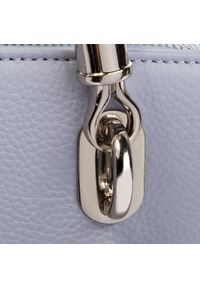 Fioletowa torebka klasyczna Kazar klasyczna, na ramię