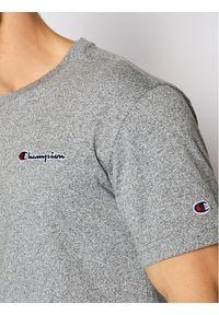 Champion T-Shirt Small Script Logo 215940 Szary Comfort Fit. Kolor: szary