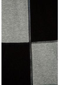 Czarna bluza rozpinana Guess gładkie, casualowa, na co dzień
