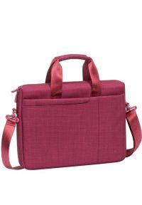 Czerwona torba na laptopa RIVACASE biznesowa