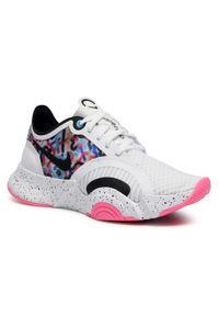 Białe buty do fitnessu Nike