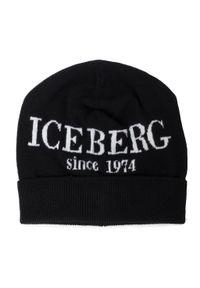 Czarna czapka zimowa Iceberg