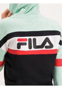 Fila Bluza Ella 687079 Kolorowy Regular Fit. Wzór: kolorowy