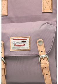 Doughnut - Plecak Macaroon. Kolor: fioletowy. Wzór: paski
