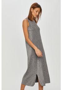 Szara sukienka Max Mara Leisure na co dzień, casualowa, maxi