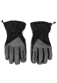 Czarne rękawiczki sportowe Reusch narciarskie