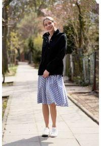 Marie Zélie - Kurtka Estel bawełna czarna. Kolor: czarny. Materiał: bawełna. Długość: krótkie. Sezon: lato