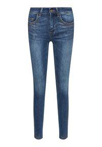 Liu Jo Jeansy UA1002 D4186 Niebieski Skinny Fit. Kolor: niebieski. Materiał: jeans