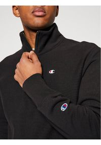 Champion Bluza Half Zip-Up 214678 Czarny Custom Fit. Kolor: czarny