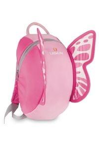 LittleLife plecak dziecięcy Animal Kids, Butterfly. Kolor: różowy