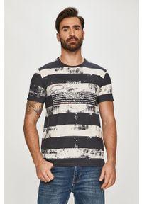 Wielokolorowy t-shirt Desigual casualowy, na co dzień