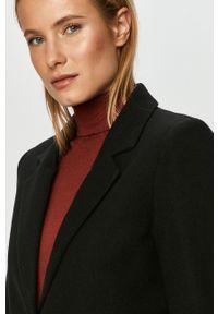 Czarny płaszcz Vero Moda na co dzień, bez kaptura