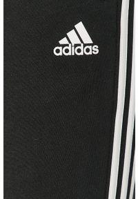 Czarne spodnie dresowe adidas Performance z aplikacjami #4