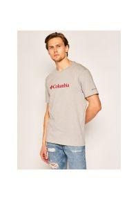 Szary t-shirt columbia