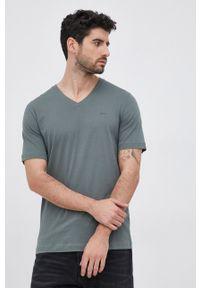s.Oliver - T-shirt bawełniany. Okazja: na co dzień. Kolor: szary. Materiał: bawełna. Wzór: gładki. Styl: casual