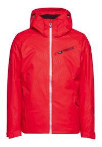 Rossignol Kurtka narciarska Stade RLJMJ03 Czerwony Regular Fit. Kolor: czerwony. Sport: narciarstwo