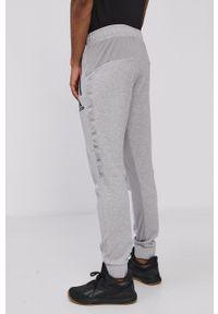 Adidas - adidas - Spodnie. Okazja: na co dzień. Kolor: szary. Materiał: dzianina, materiał. Styl: casual