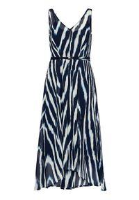Niebieska sukienka letnia DKNY
