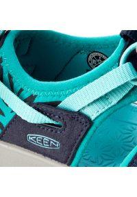 keen - Sandały KEEN - Moxie Sandal 1016351 Dress Blues/Viridian. Kolor: niebieski. Materiał: materiał
