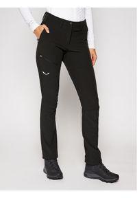 Czarne spodnie sportowe Salewa outdoorowe