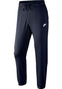 Niebieskie spodnie dresowe Nike