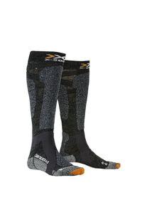 X-Socks - Skarpety X-SOCKS CARVE SILVER 4.0. Materiał: włókno
