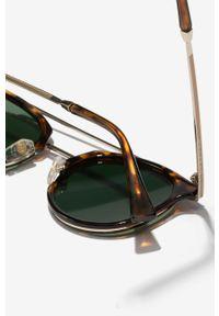 Hawkers - Okulary CAREY GREEN BOTTLE CITYLIFE. Kształt: okrągłe. Kolor: zielony