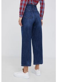 Sisley - Jeansy bawełniane Osaka. Kolor: niebieski