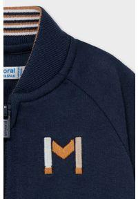 Niebieska bluza rozpinana Mayoral casualowa, na co dzień