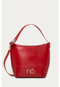 Czerwona shopperka Nobo skórzana