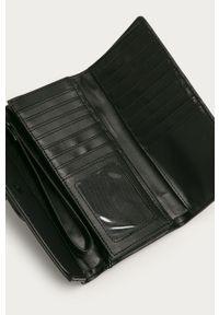 Czarny portfel Aldo gładki #4