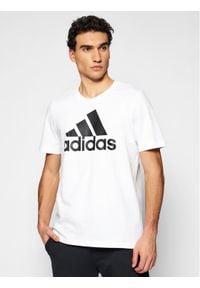 Adidas - adidas T-Shirt Essentials Big Logo GK9121 Biały Regular Fit. Kolor: biały