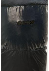 Niebieska kurtka Geox z kapturem