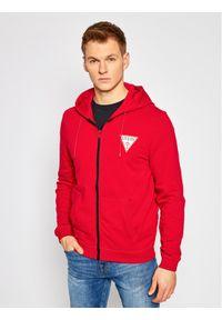 Guess Bluza M1RQ48 K6ZS1 Czerwony Slim Fit. Kolor: czerwony