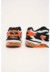 Wielokolorowe sneakersy Puma z okrągłym noskiem, na sznurówki