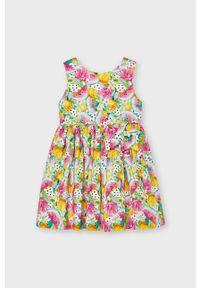 Sukienka Mayoral mini, rozkloszowana, na ramiączkach